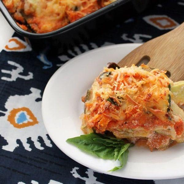 Healthy Hacks: Noodleless Veggie Lasagna