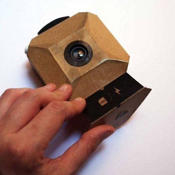Cardboard + Arduino = A DIY Digital Camera