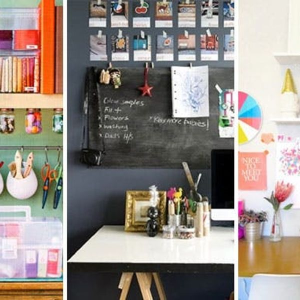 Work It: 15 Inspiring Ideas for a Creative Workspace