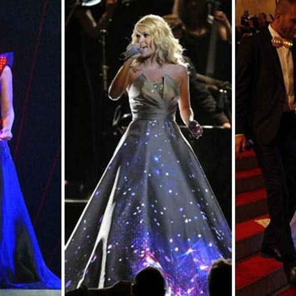 We're Obsessed: 10 Glowing Geek Chic Gowns