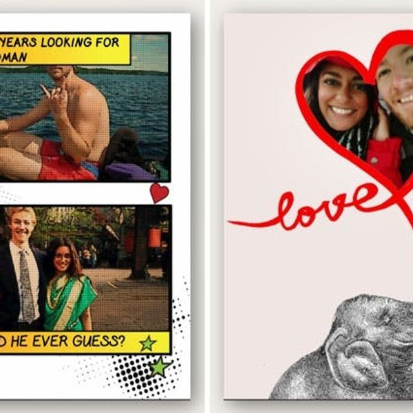 How to Create Valentines from Your Phone (+ Free iTunes Giveaway)!
