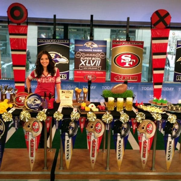 As Seen on the Today Show: DIY Party Ideas for the Super Bowl