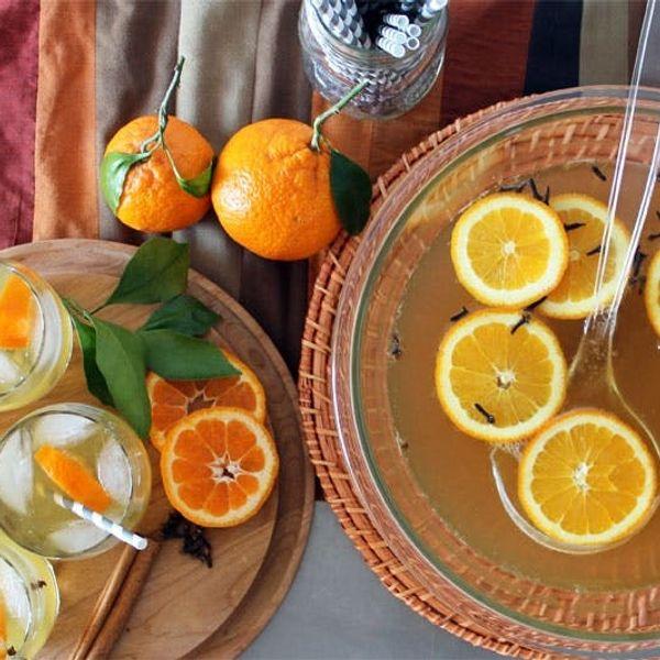 Orange You Glad We Made Orange Ginger Rum Punch?