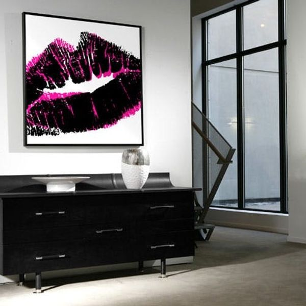 How to Turn Your DNA, Fingerprints + Kisses into Wall Art