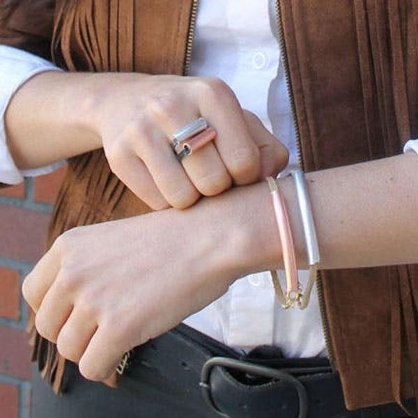 DIY Copper Tubing Statement Jewelry