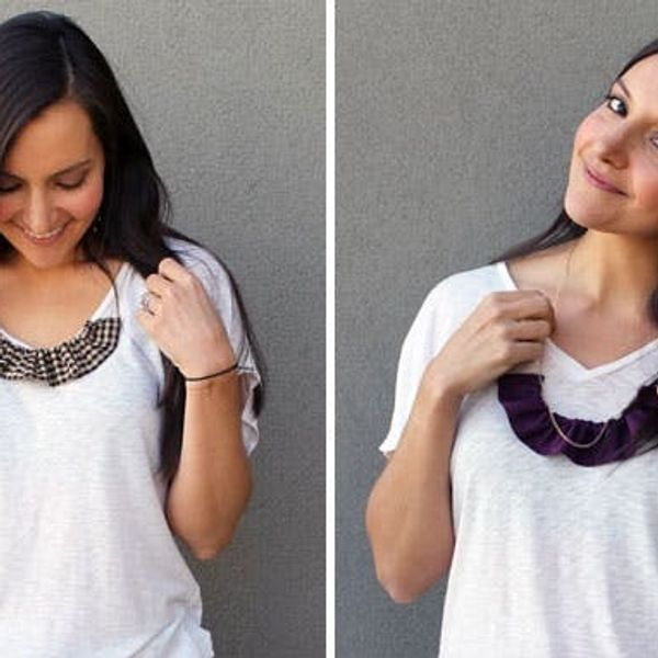 Ruffle It Up with 3 Easy Ruffle Collar Necklaces