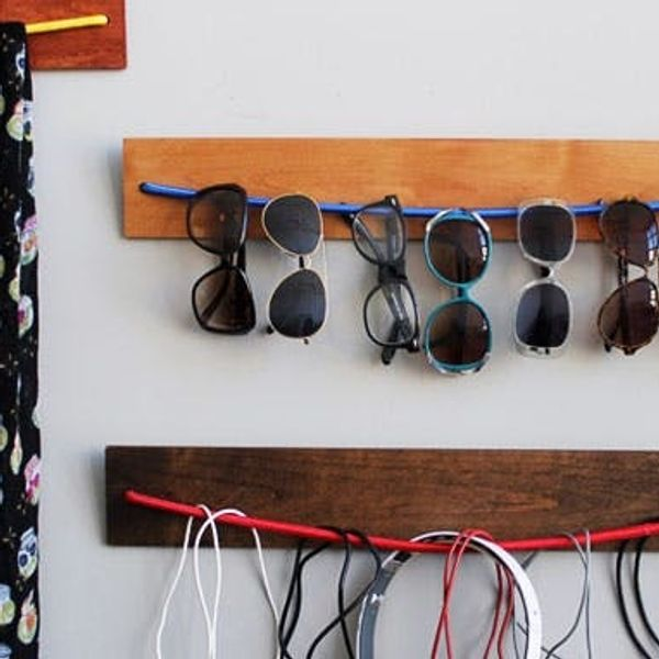 Maximize Storage Space with a DIY Wooden Bungee Organizer