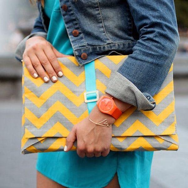 16 Stylish + Simple DIY Laptop Sleeves