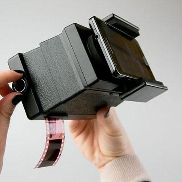 Got Rolls of Old Film? There's a Smartphone Film Scanner for That!