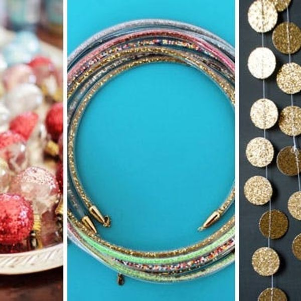 All That Glitters: 50 DIY Projects That Sparkle