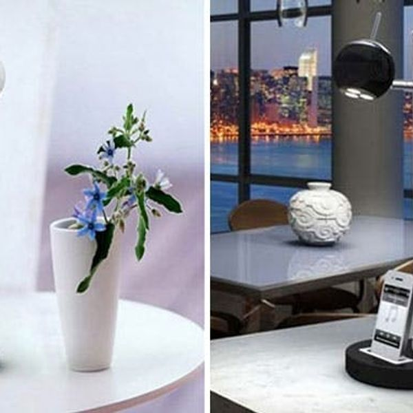 Tlight: An LED Lamp, Charger + Speaker in One