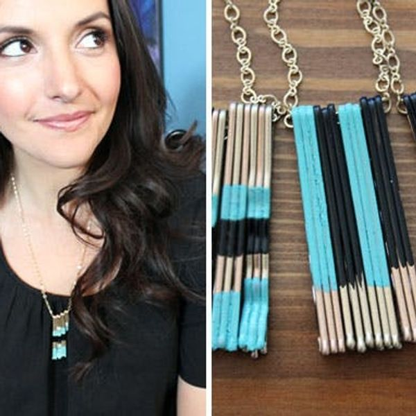 "How to Turn Bobby Pins into ""Polished"" Pendants"
