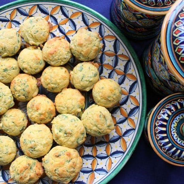 Spinach Artichoke Dip… in Mini Muffin Form!
