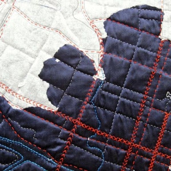 Sewing 101: DIY Map Quilt Kits