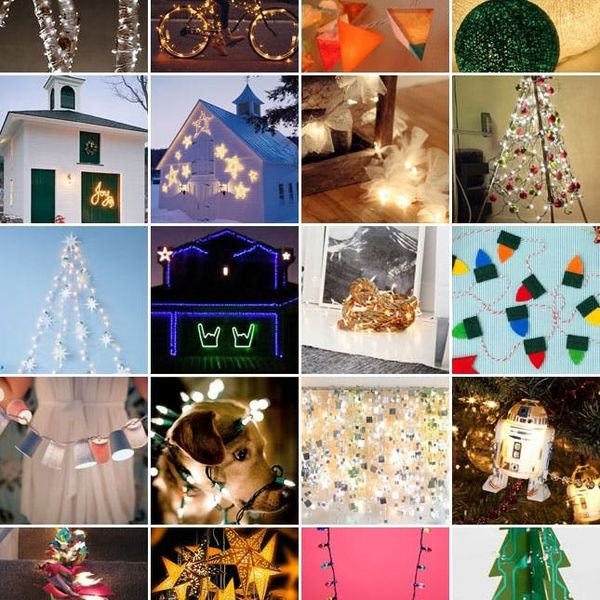 Let There Be Light! 19 Festive Holiday Light Ideas