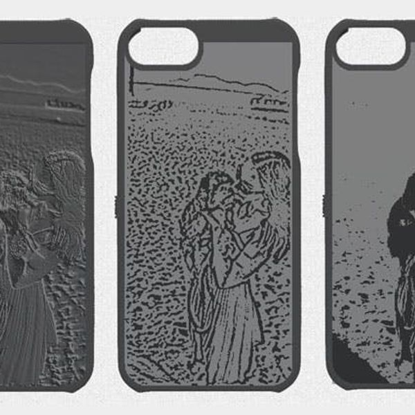 Cubify Launches 3D Printed Photo iPhone Cases