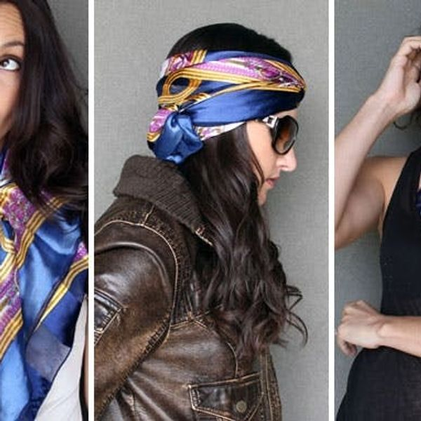 15 Ways to Style a Scarf