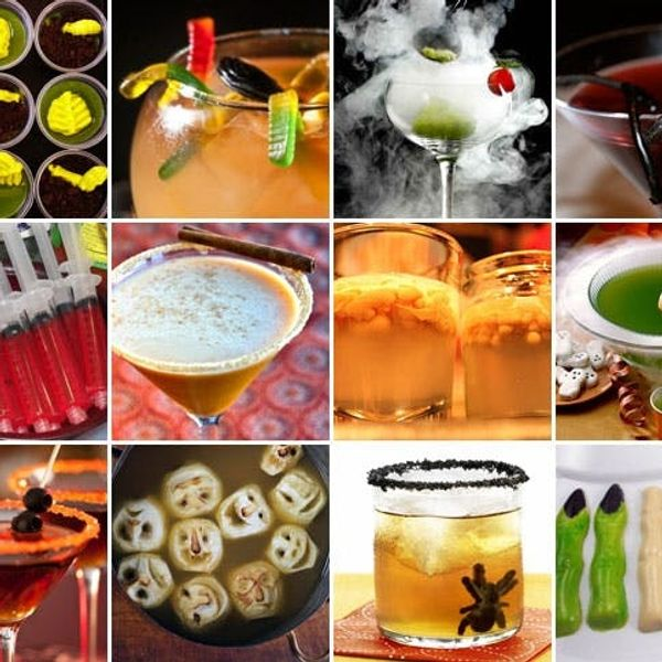Spike Your Spooky Sweets: 12 Devilish Halloween Cocktails