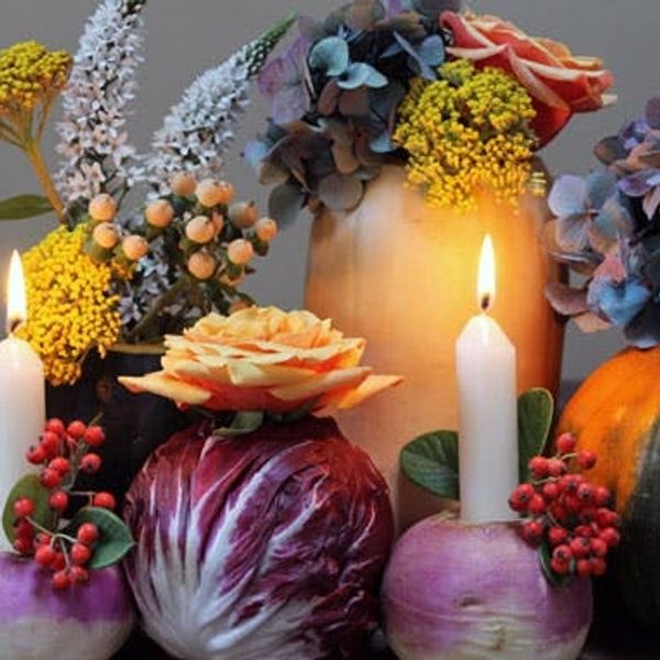 How to Turn Vegetables into Vases