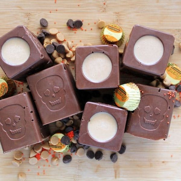 Trick Out Your Treats: Reese's Peanut Butter Shooters
