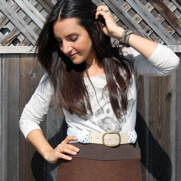 How to Create the Ultimate Scarf Belt