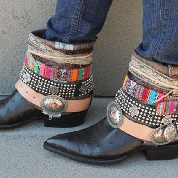 Kick Up Your Fall Fashion with DIY Belted Boots