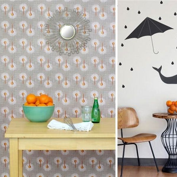 Spoonflower Launches Custom Wallpaper and Wall Decals!