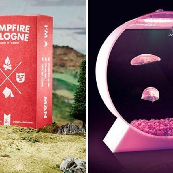 The BritList: Campfire Cologne, Jellyfish Aquariums + More