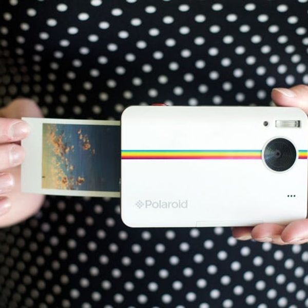 The New Polaroid Z2300 Makes Instant Photo Stickers + Shoots Video