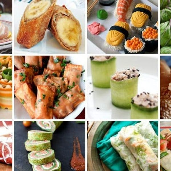 Roll It Up: 12 Inventive Ways to Roll Your Food