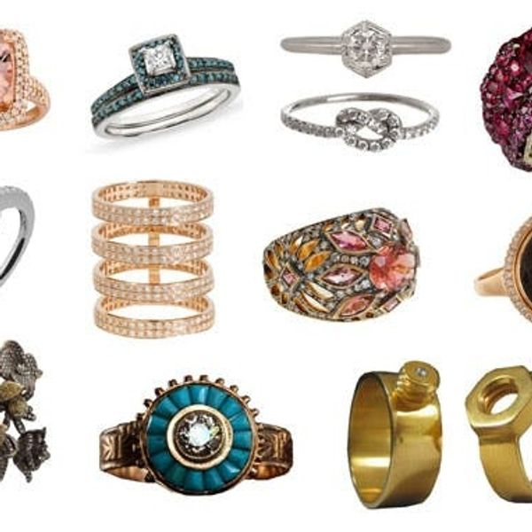 12 Non-Traditional Engagement Rings Even Married Girls Will Swoon Over