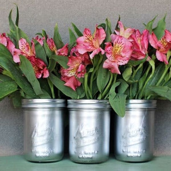 DIY Basics: Inside Out Painted Jars