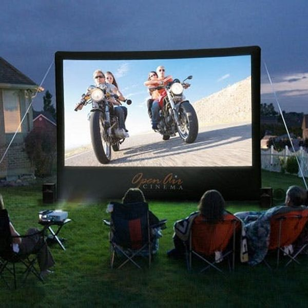 Turn Your Backyard into a Movie Theater
