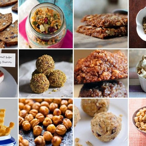 12 Healthy Recipes for On-the-Go Snacking
