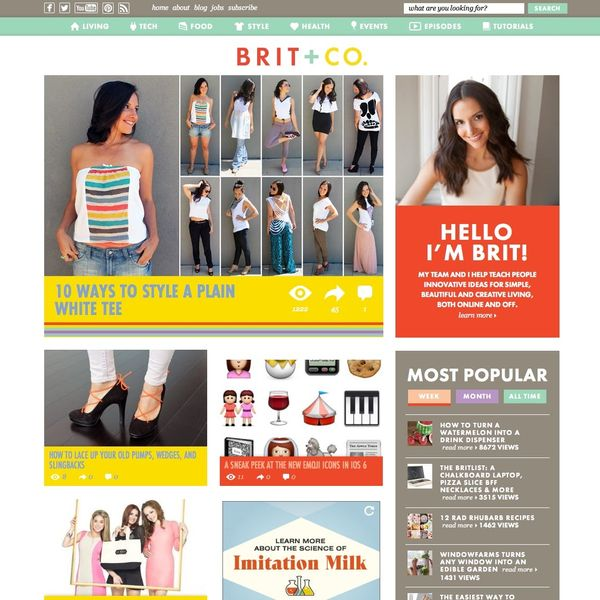 Introducing the New Brit + Co. Design