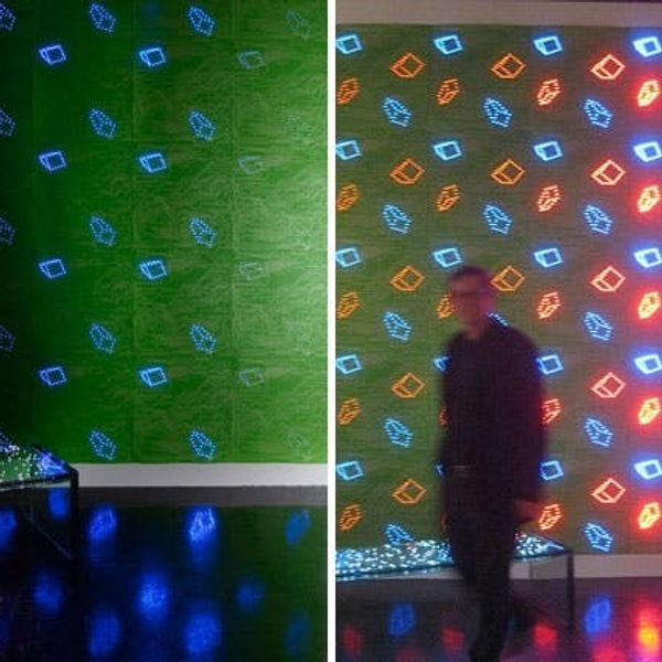 LED Wallpaper is a Geeky Design Lover's Dream Come True