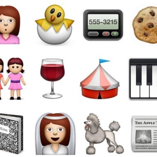 A Sneak Peek at the New Emoji Icons in iOS 6