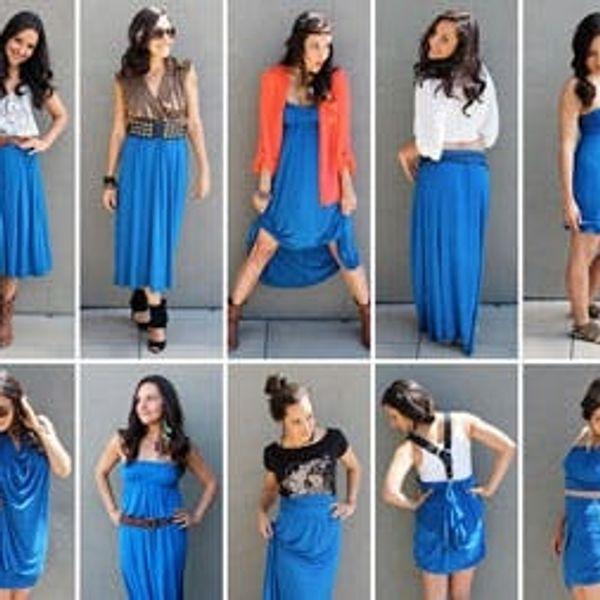 10 Ways to Style a Maxi Dress