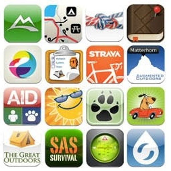 Tuesday's Tech of the Week: Outdoorsy Apps Edition