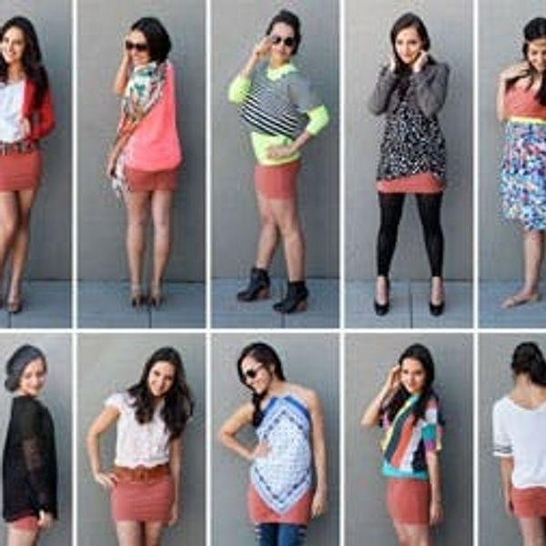 10 Ways to Style a Mini Skirt