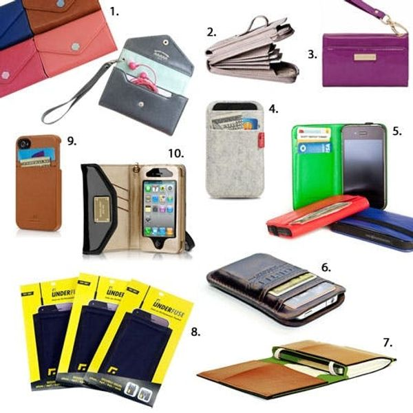 10 iPhone Wallets, Pockets & Wristlets for Snazzy Guys and Gals