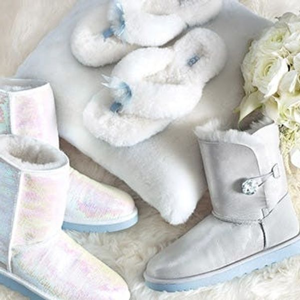 Oh, No They Didn't! Wedding Uggs Are Now On Sale