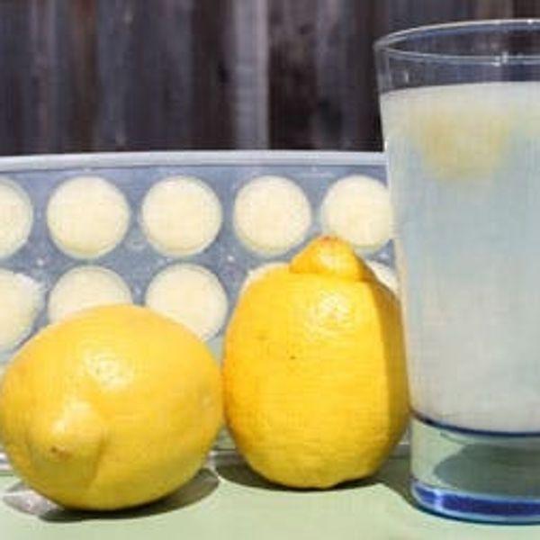 When Life Gives You Lemons, Make Lemon Ice Balls!