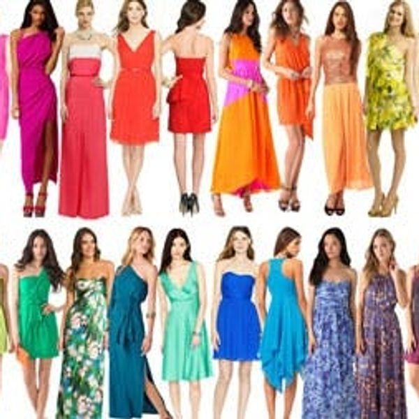 30 Colorful Cocktail Dresses for Summer