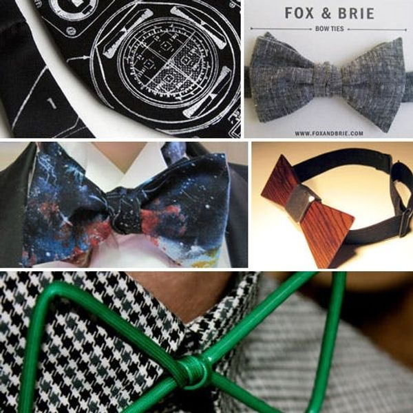 5 Unusual Bow Tie Shops for Dashing Dudes