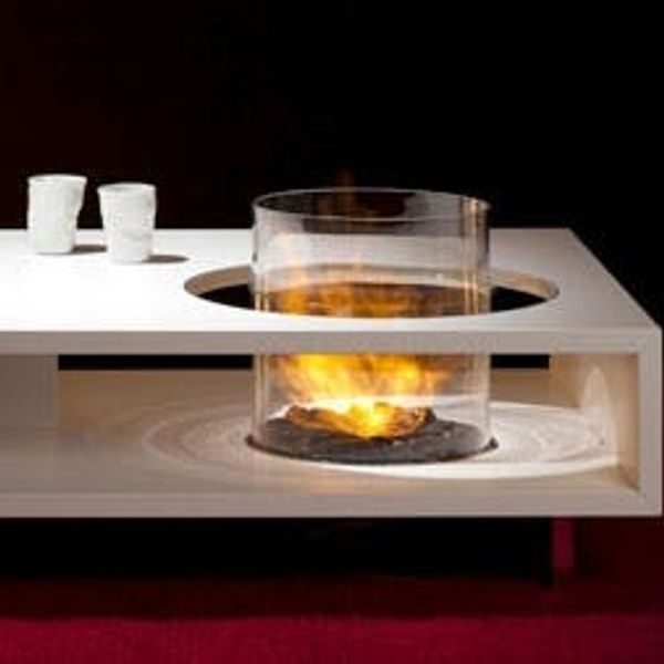 All Fired Up: Fire-Breathing Coffee Tables, Mobile Fireplaces & More