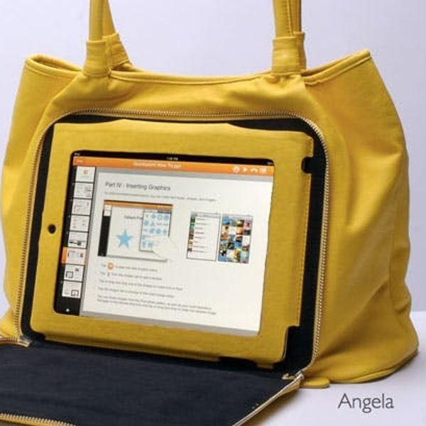Versetta: A Bag Designed for Your iPad
