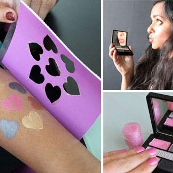 Turn Your Eyeshadow into Lip Gloss, Nail Polish & Temporary Tattoos