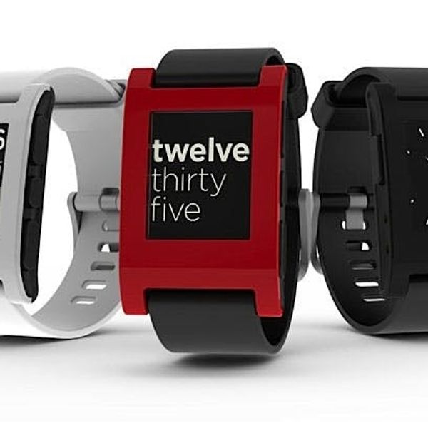 Pebble: A Watch That Syncs with Your Smartphone