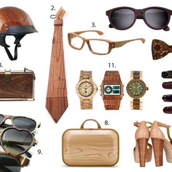 11 Wooden Wearables